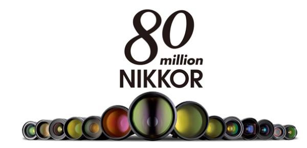 Nikon, 80 Milyon Nikkor Lens Üretti