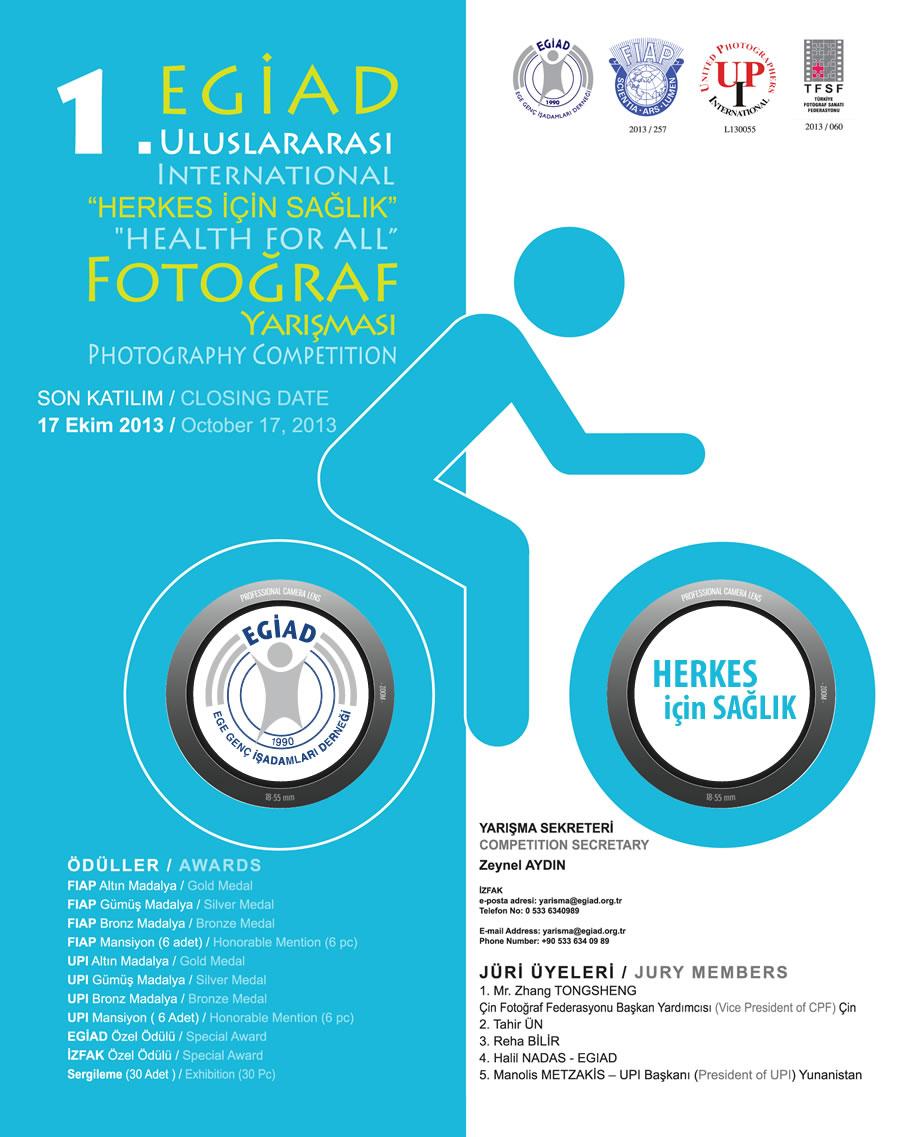 EGİAD 1. Uluslararası Fotoğraf Yarışması