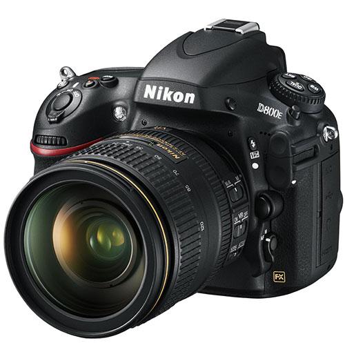 Nikon, D800E Fotoğraf Makinesi için Tavsiye Ettiği Lensleri Güncelledi