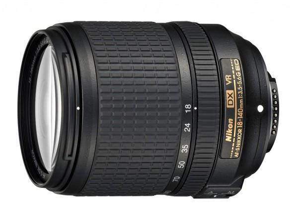AF-S DX NIKKOR 18-140mm f/3.5-5.6G ED VR Lens Duyuruldu