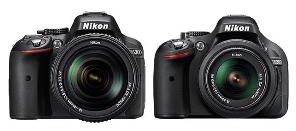 D5300-vs-D5200-specs-comparison