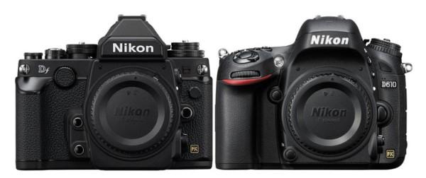 Nikon Df vs. Nikon D610 Özellikler Karşılaştırma Tablosu