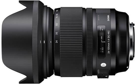 Sigma 24-105mm F4 DG OS HSM Art Lens Özellikleri ve Fiyatı