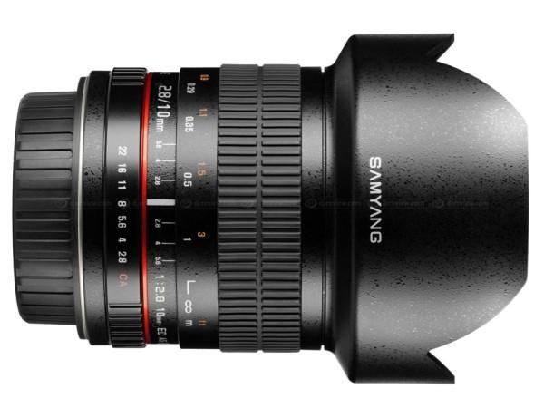 Samyang 10mm f/2.8 ED AS NCS CS Geniş Açı Lens Duyuruldu