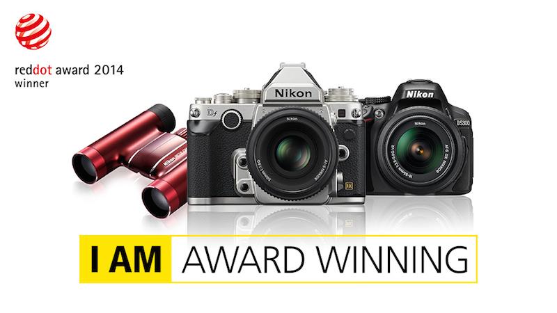 Nikon Df ve D5300 DSLR Fotoğraf Makineleri 2014 Tasarım Ödülüne Layık Görüldü