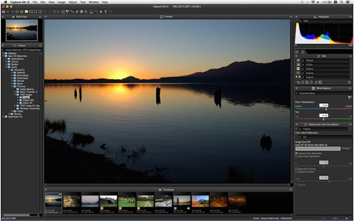 Nikon Capture NX-D, 15 Temmuz Tarihinden İtibaren Ücretsiz İndirilebilecek