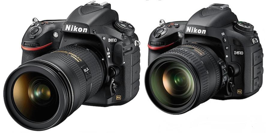 Nikon D810 vs D610 Özellikler Karşılaştırması