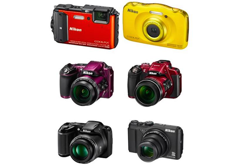 Nikon Coolpix P610, L840, L340, S9900, S7000, S33 ve AW130 Duyuruldu