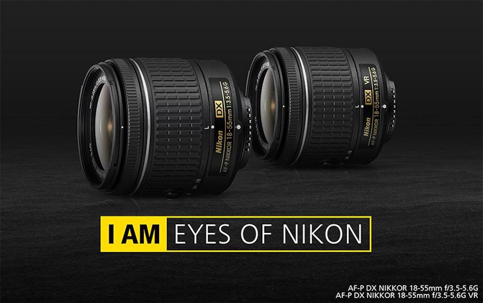 Nikon Yeni AF-P DX NIKKOR 18-55mm f/3.5-5.6G VR Lenslerini Duyurdu