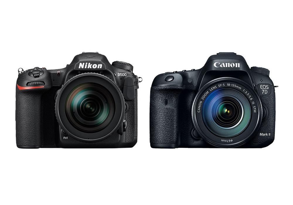 Nikon D500 vs Canon 7D Mark II Karşılaştırması