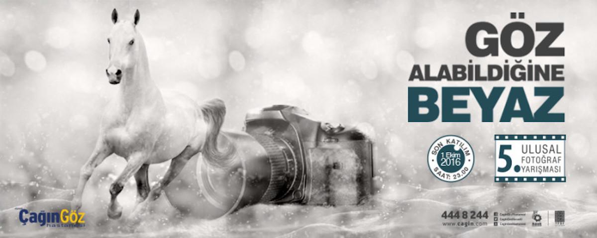 Çağın Göz Hastanesi 5. Fotoğraf Yarışması Göz Alabildiğine 'BEYAZ'