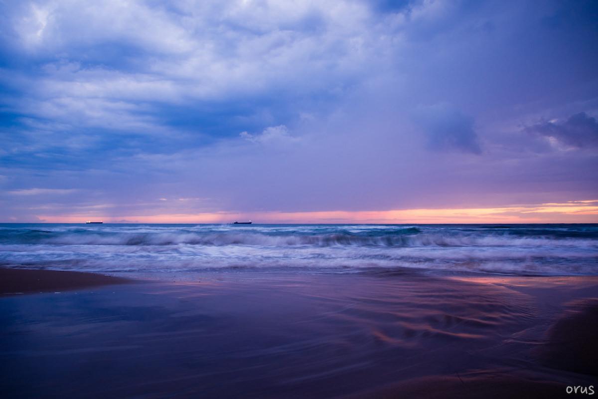 Deniz Manzarası Fotoğrafları Kumsal