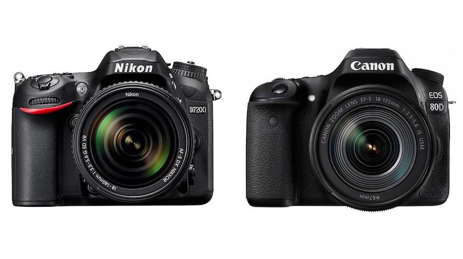 Nikon D7200 vs Canon 80D Karşılaştırması