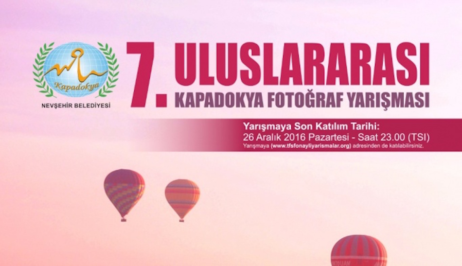 7. Uluslararası Kapadokya Fotoğraf Yarışması