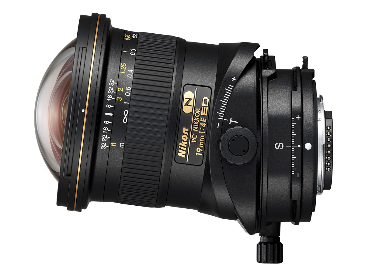 Nikon PC NIKKOR 19mm f/4E ED tilt shift lens