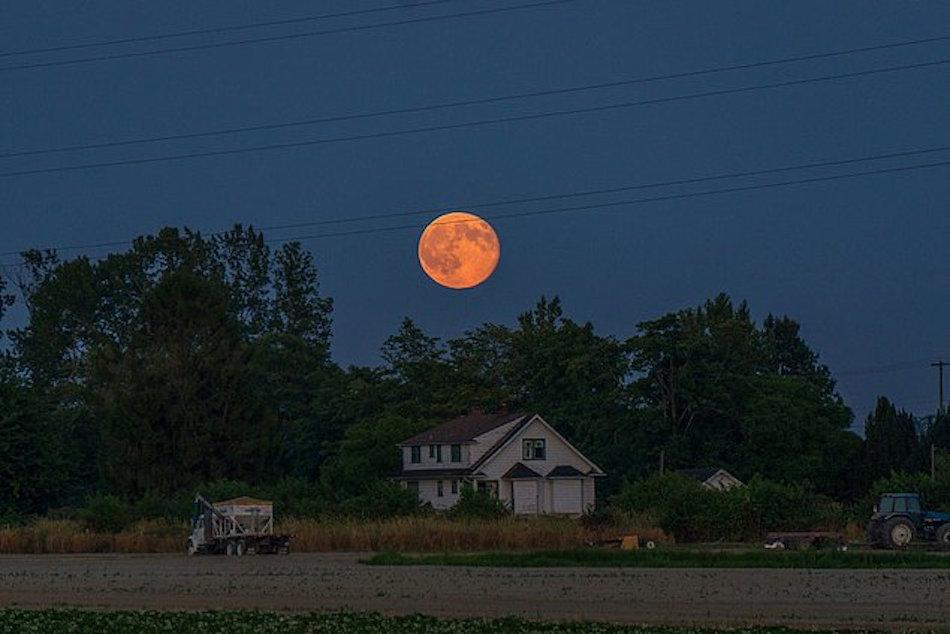 Birbirinden Güzel Süper Ay Fotoğrafları