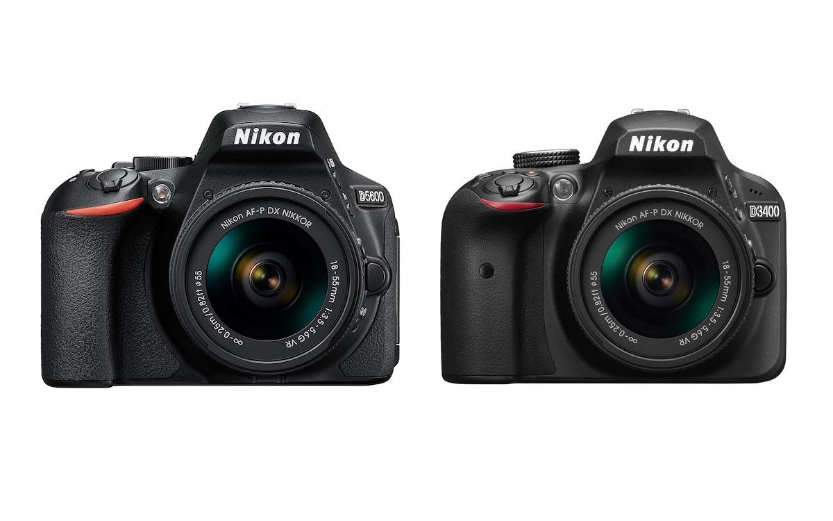 Nikon D5600 vs D3400 Özellikler Karşılaştırması