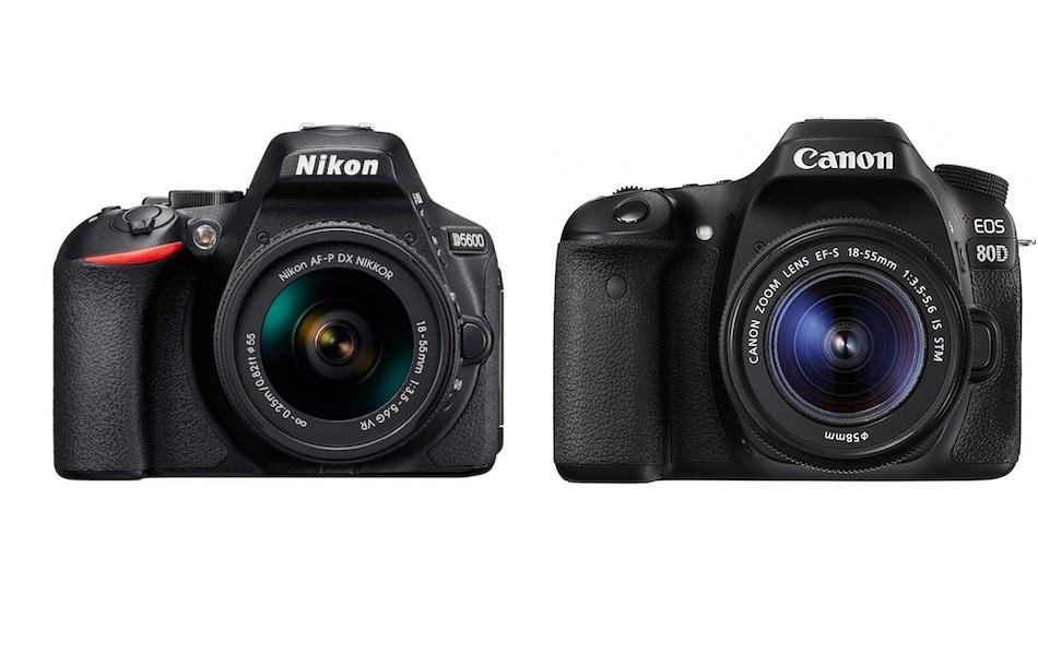 Nikon D5600 vs Canon 80D – Kıyaslaması