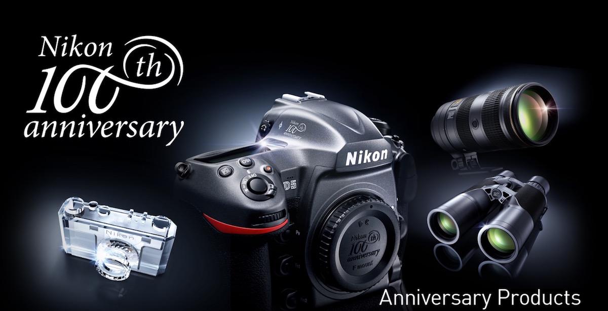 Nikon 100. Yıl Dönümü Hatıra Modelleri Sunuldu