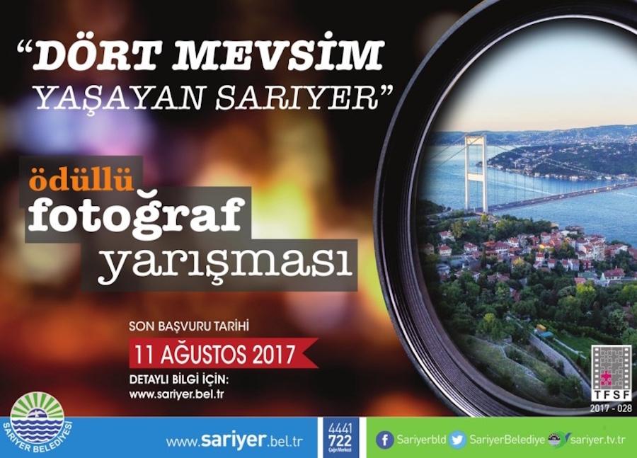 """Sarıyer Belediyesi Ulusal Fotoğraf Yarışması """"Dört Mevsim Yaşayan Sarıyer"""""""