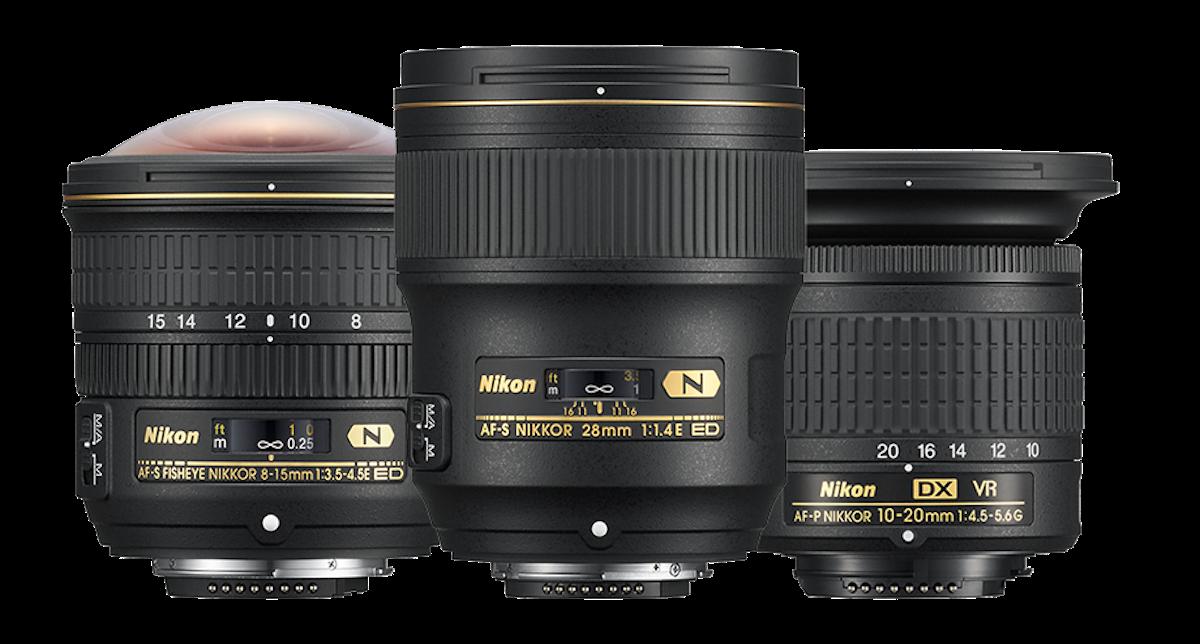 Nikon AF-S Fisheye NIKKOR 8-15mm f/3.5-4.5E ED, AF-P DX NIKKOR 10-20mm f/4.5-5.6G VR ve AF-S NIKKOR 28mm f/1.4E ED lensler duyuruldu