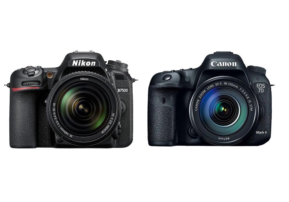 Nikon D7500 vs Canon 7D Mark II Karşılaştırması