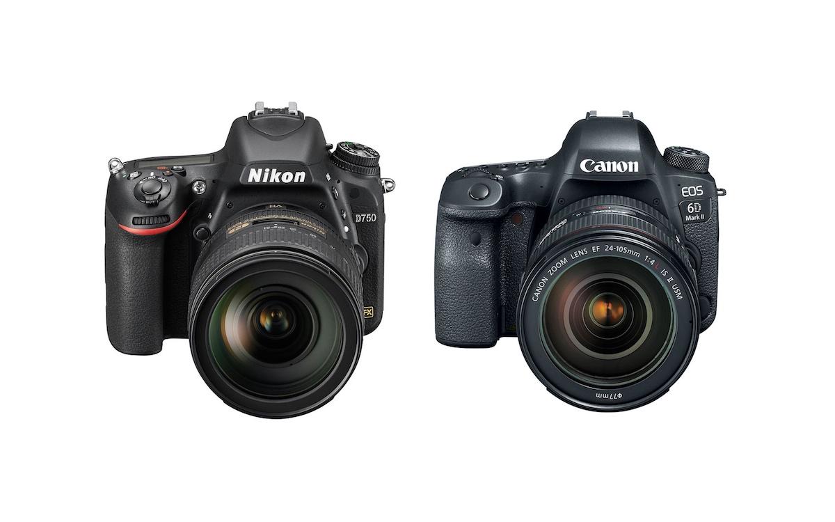 Nikon D750 vs Canon 6D Mark II – Karşılaştırması