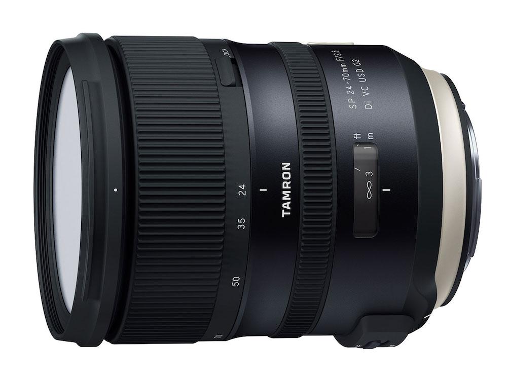 Tamron SP 24-70mm f/2.8 Di VC USD G2 Lens Duyuruldu
