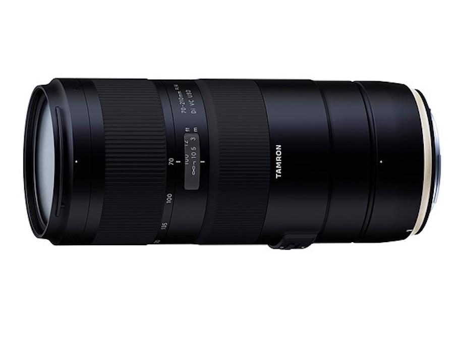 Tamron 70-210mm f/4 Di VC USD Lens Duyuruldu