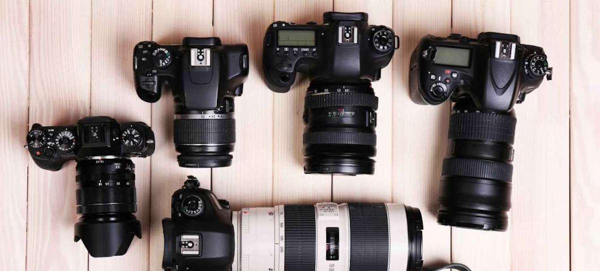 Satışı Devam eden İkinci El Fotoğraf Makinesi ve Lensler