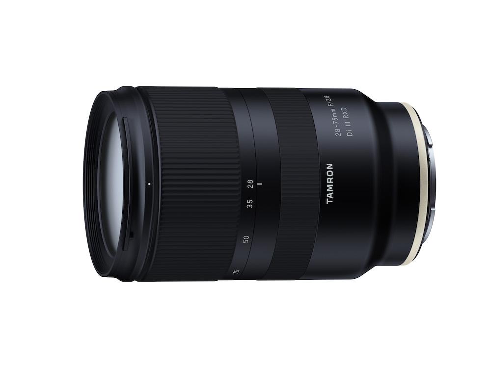 Tamron 28-75mm F/2.8 Di III RXD lens Sony E-Mount Aynasız Makineler için Duyuruldu