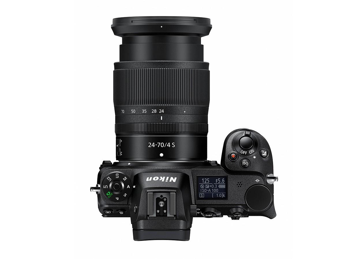 Nikon Z6 Üst