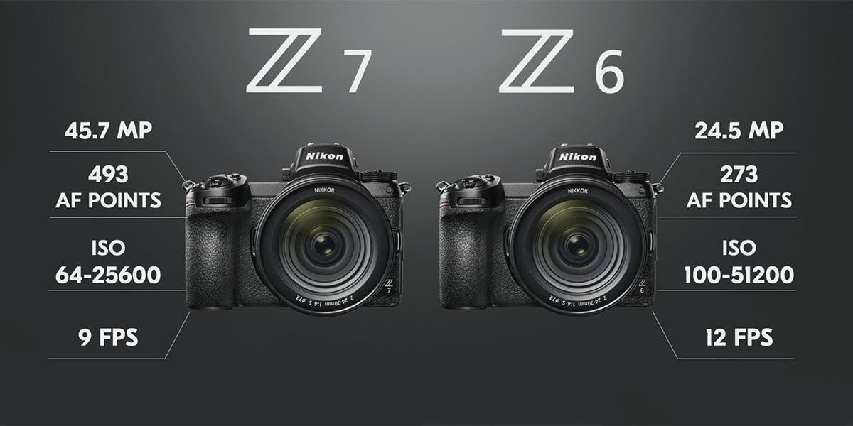 Nikon Z6 ve Z7 Tam Kare Aynasız Fotoğraf Makineleri Duyuruldu