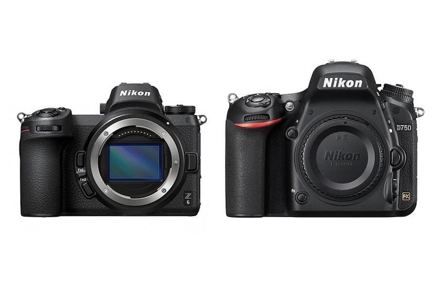 Nikon Z6 vs Nikon D750 – Karşılaştırma