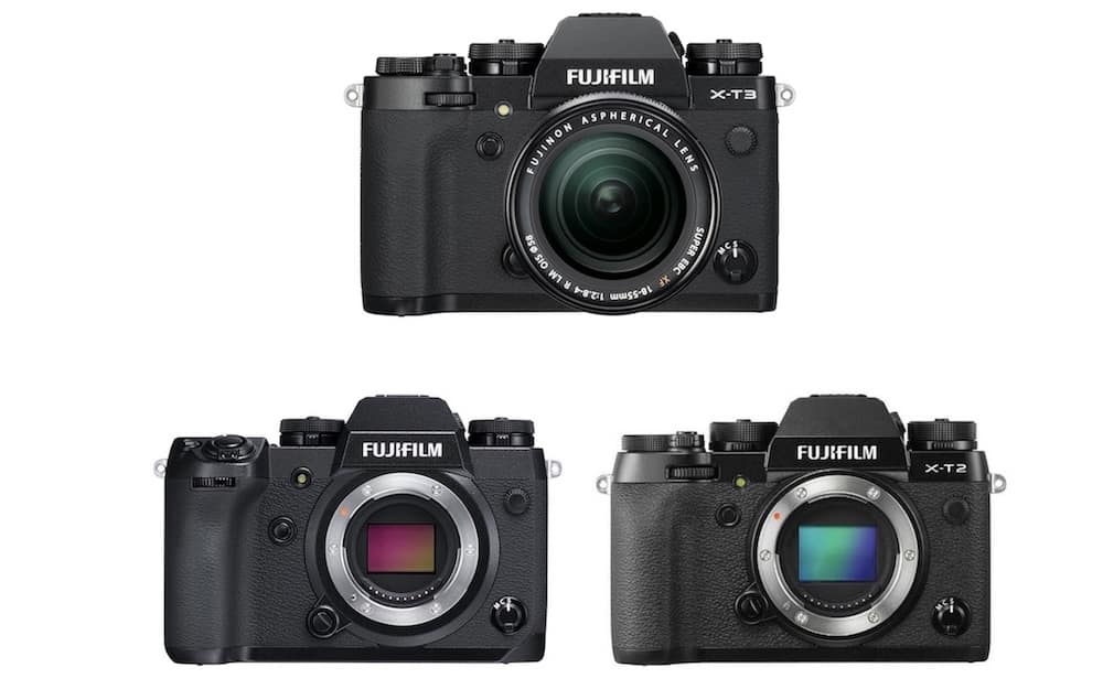 Fujifilm X-T3 vs X-H1 vs X-T2 – Karşılaştırma