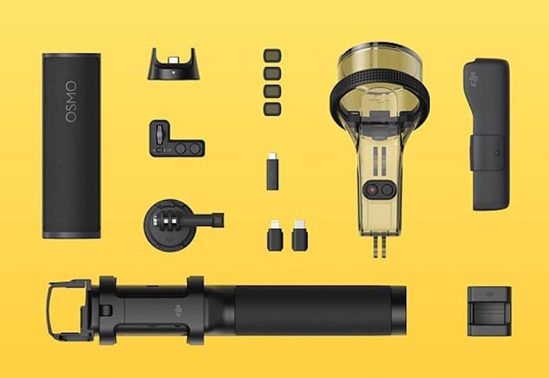 DJI Osmo Pocket Gimbal, 4K60p Video çeken En Küçük Kamera Sistemi
