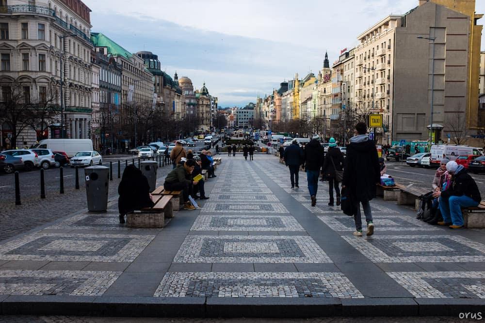 Venceslas Meydanı (Vaclavske namesti)