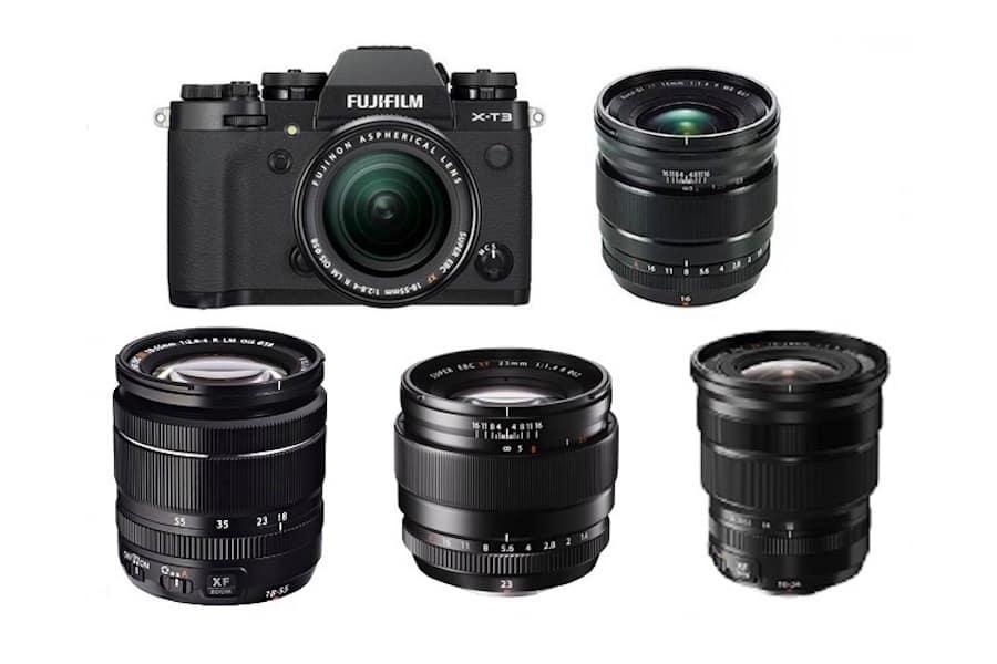 Fujifilm X-T3 için En İyi Lensler