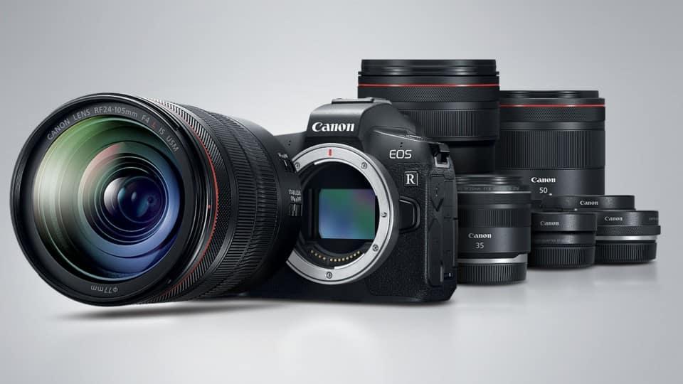 Sonraki Canon EOS R Tam Kare Aynasız Fotoğraf Makineleri 5 eksenli IBIS İçerebilir