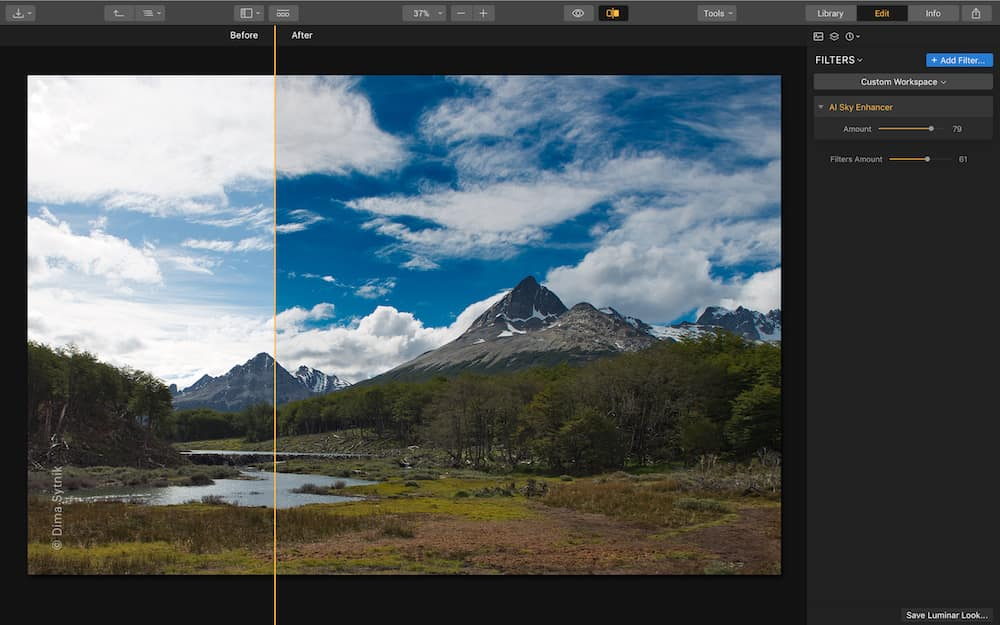 Popüler Fotoğraf Düzenleme Programı : Luminar