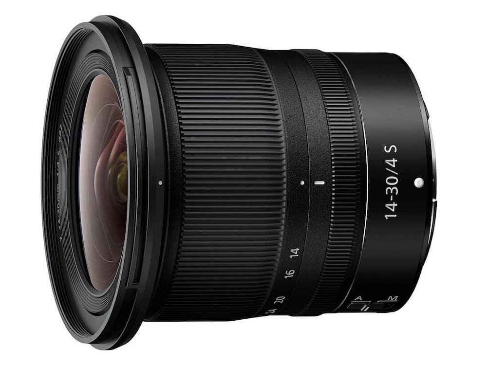 Nikon NIKKOR Z 14-30mm f/4 S ; Geniş Açı Tam Kare Aynasız Lens