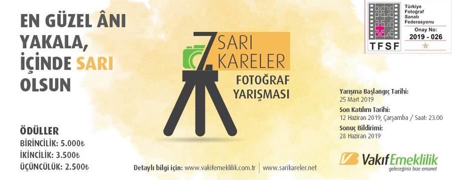 """Vakıf Emeklilik 7. """"Sarı Kareler"""" Fotoğraf Yarışması"""