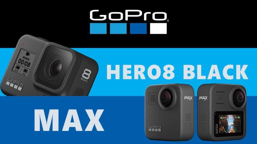 GoPro Hero 8 Black ve GoPro Max Fiyat ve Özellikleri