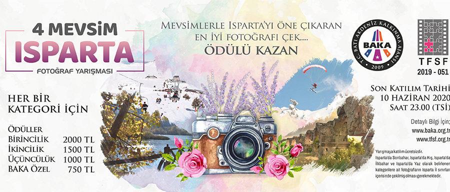 Dört Mevsim Isparta Fotoğraf Yarışması (SKT:10 Haziran 2020)