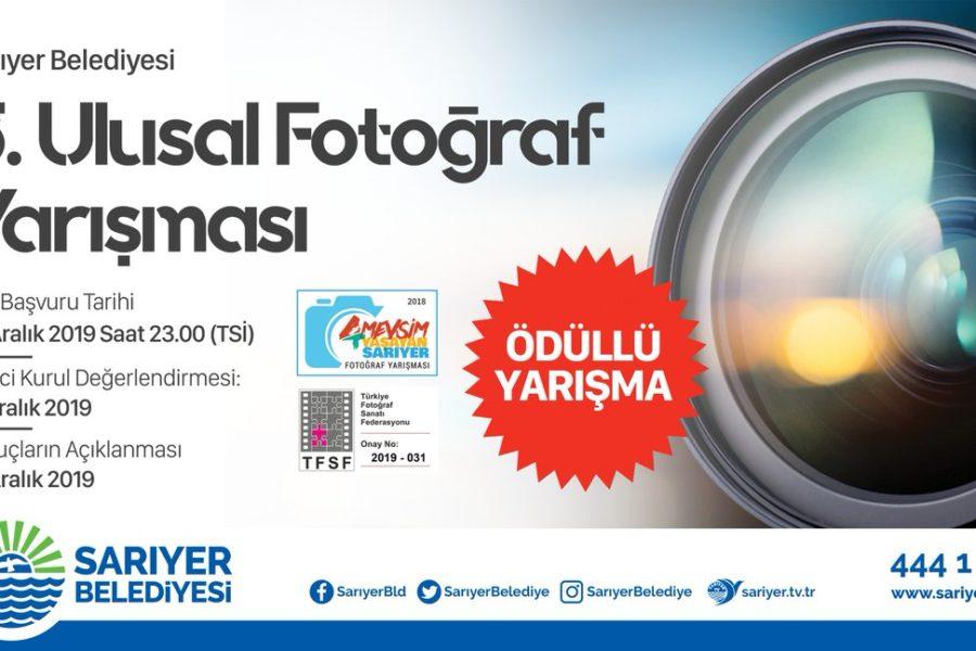 Sarıyer Belediyesi Ulusal Fotoğraf Yarışması – SKT: 6.12.2019