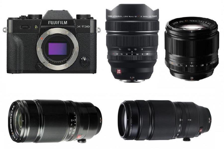 Fujifilm X-T30 için En İyi Lensler