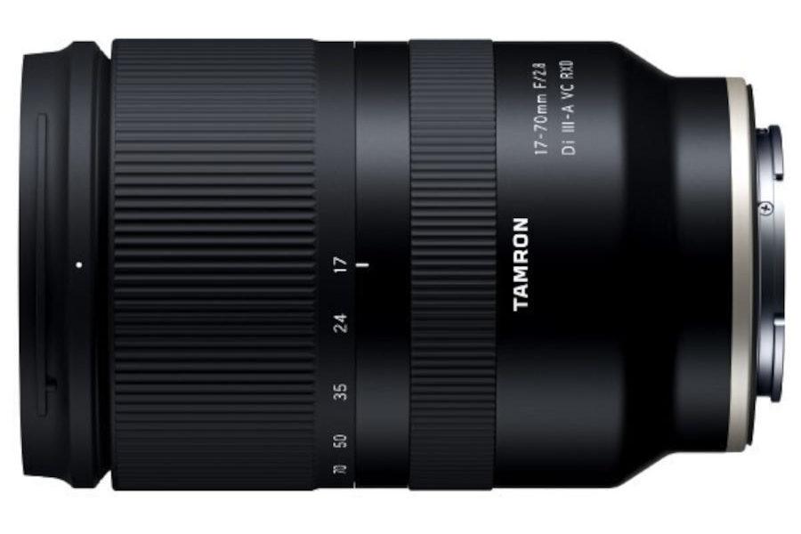 Sony APS-C E-Mount için Tamron 17-70mm f/2.8 VC Lens Tanıtıldı