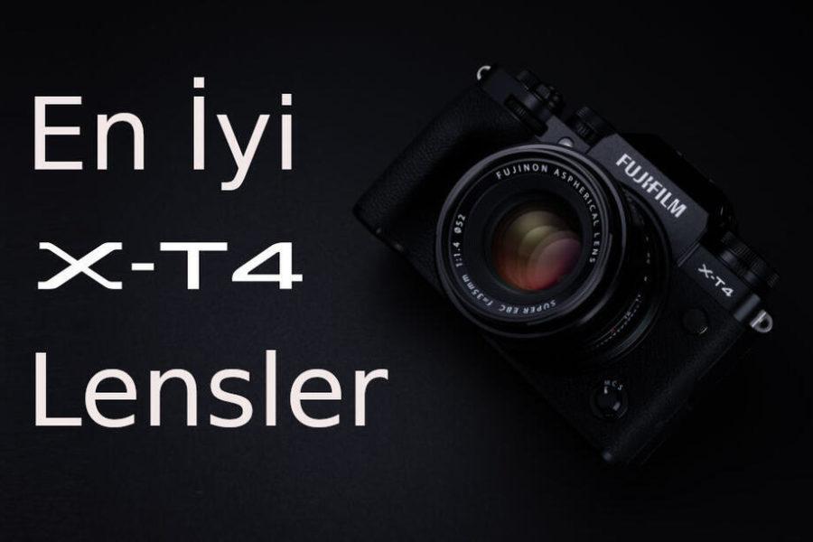 Fujifilm X-T4 için En İyi Lensler
