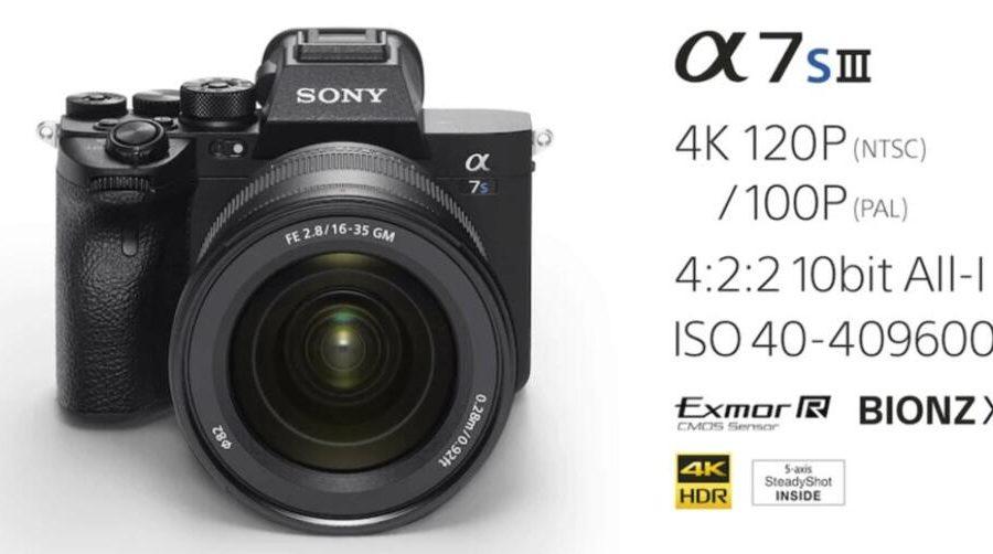 Sony A7S III Aynasız Fotoğraf Makinesi – Özellikleri ve Fiyatı