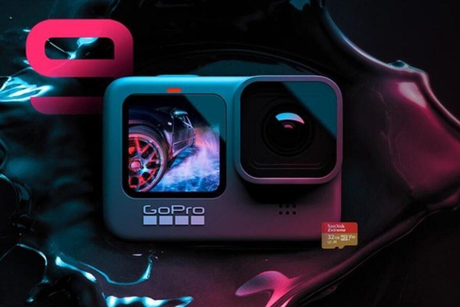 GoPro HERO9 Black Aksiyon Kamerası